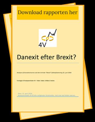 Danexit efter Brexit?